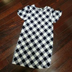 Ann Taylor Gingham Print Dress